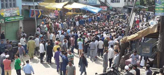 Protestors block highway in Banihal over 'missing' man