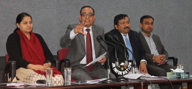 Kansal reviews progress on Outreach Programmes conducted across J&K