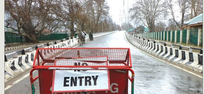 Govt issues list of essential services in JK