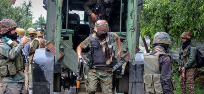 One militant killed, operation continues in Pampore