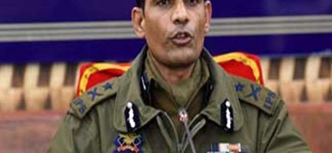 Lawaypora: Slain youth were involved in militancy: IGP