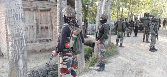 Four militants killed in two encounters