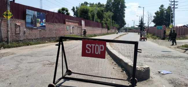 COVID-19 Surge: Corona curfew extended in Anantnag, Kulgam districts till further orders