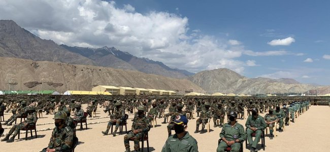 Bravery shown by you has sent message about India's strength: PM Modi to soldiers in Ladakh
