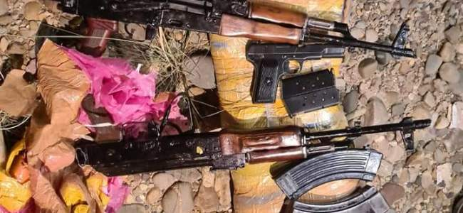 Police seize arms, ammunition in Jammu