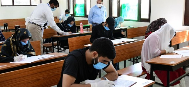 NEET Examination: 18000 students appear at 57 Centres across Srinagar