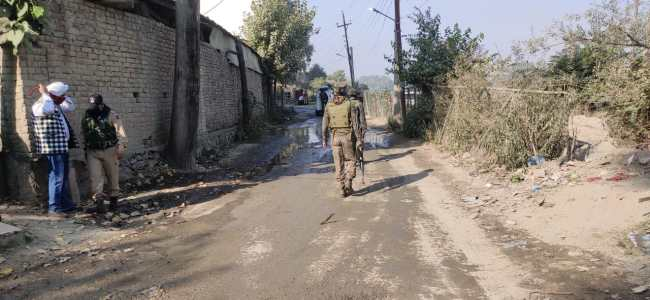 Two militants killed in ongoing Srinagar gunfight, searches on