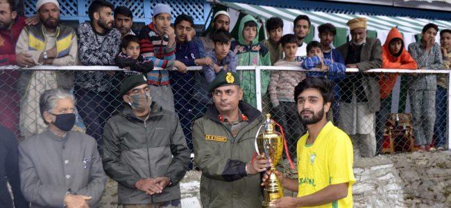 Boniyar Cup, football tournament concludes