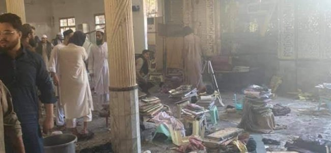 Seven killed, 70 injured in bomb blast at seminary in Pakistan