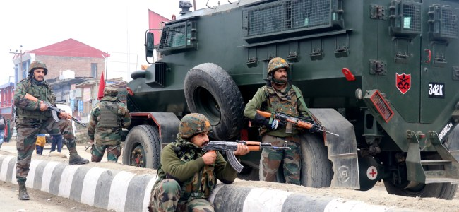 Day 2 of Srinagar gunfight: One militant killed, operation going on