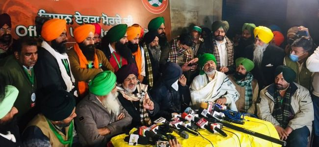 Protesting farmer leaders allege conspiracy to kill 4 of them, disrupt tractor rally