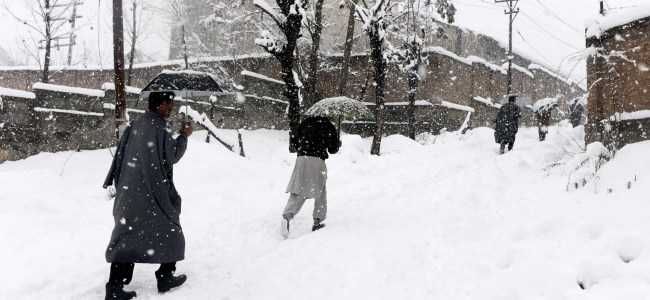 Patients ferried on shoulders as admin fails to clear roads in Pulwama