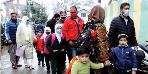 COVID: Schools Upto 9th Standard Being closed For 2 weeks in JK