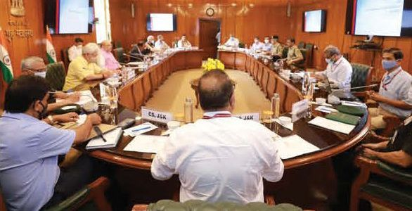 Amit Shah reviews security situation in JK