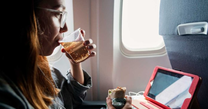 Why You Should Always Order Ginger Ale on a Flight