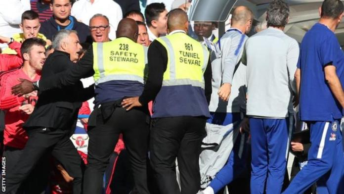 Chelsea boss forgives assistant coach for Mourinho scuffle
