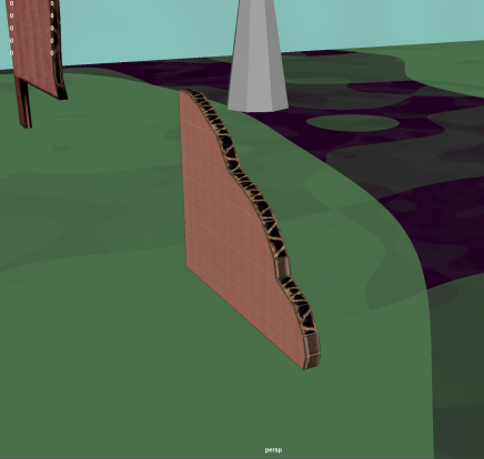 Attempt to texture flute sides