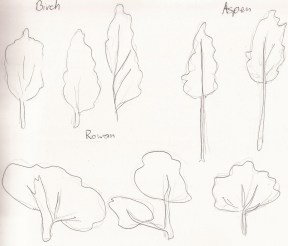 other tree sketches