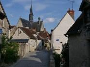 Montresor widok z kościołem