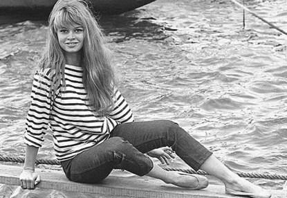 Brigitte Bardot w marinière