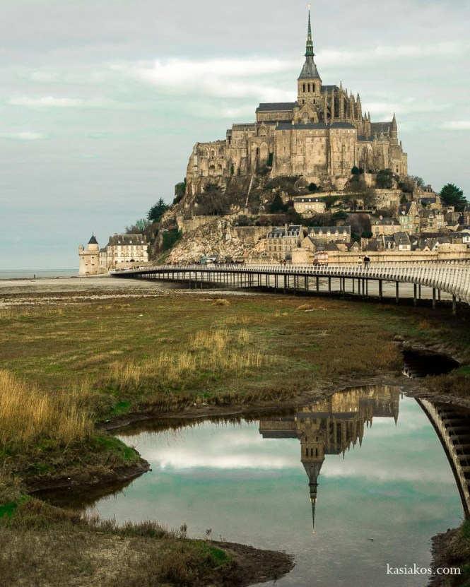 Normandia Mont-Saint-Michel