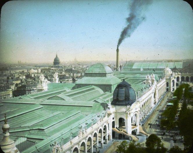 Pałac Przemysłu Metalurgicznego oraz Kopalnictwa, Wystawa PAryska w 1900 roku,