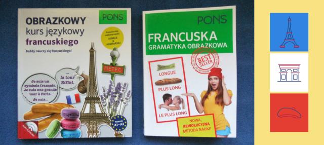 Obrazkowe książki do samodzielnej nauki francuskiego