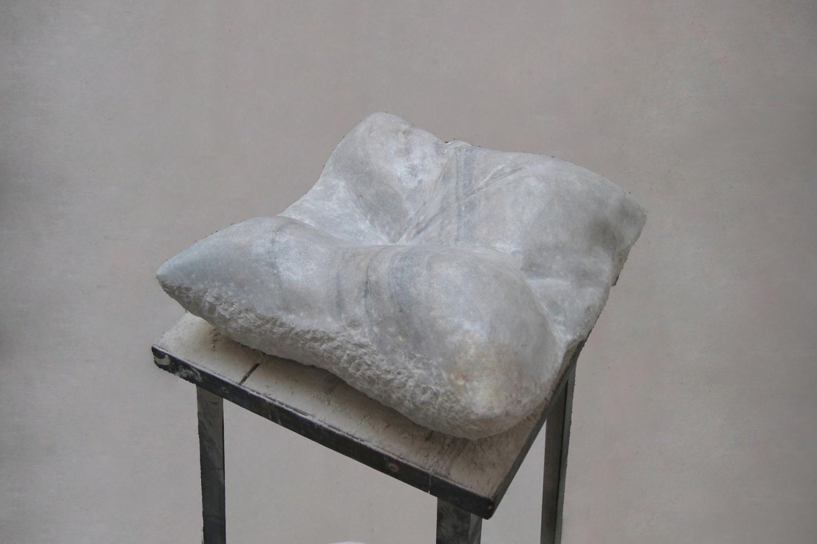 Pillow, 2005, 50 cm x 80 cm x 25 cm, Marble