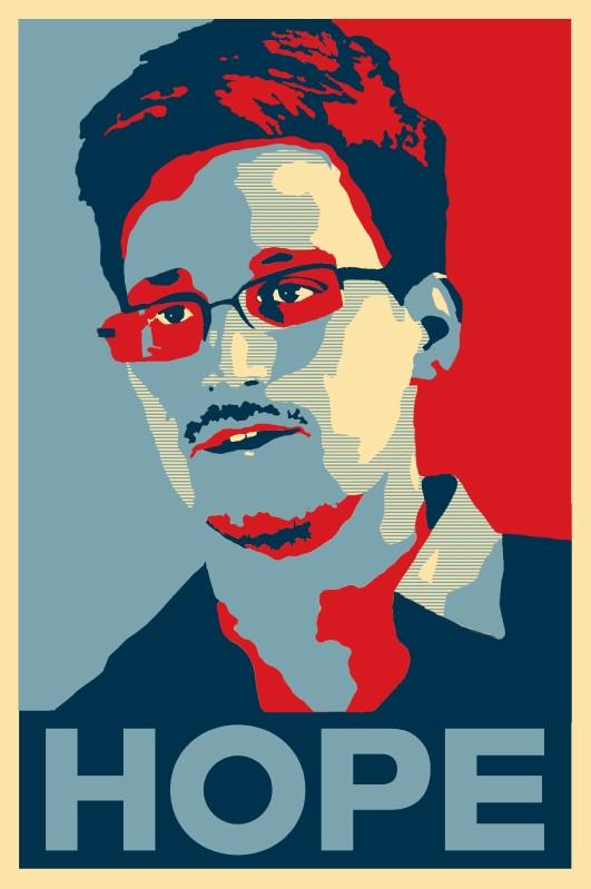 Kasia Ozga, Edward Snowden Hope, 2013
