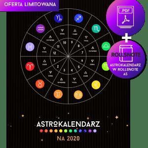 Astrokalendarz na 2020 kieszonkowe 2w1