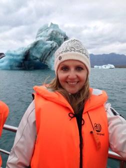 Among the icebergs
