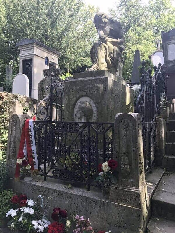 Frederic Chopin grave