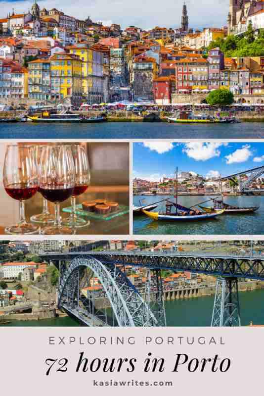 collage of images of Porto