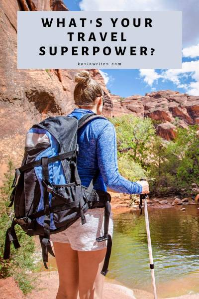 woman backpacking which is a travel superpower