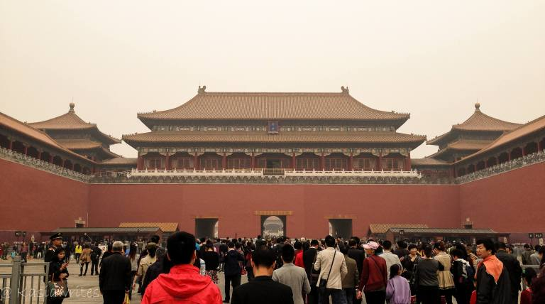 visiting the forbidden city