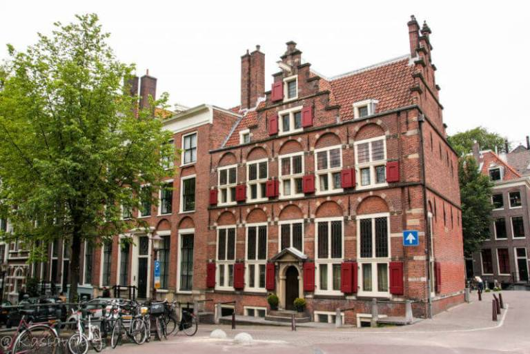 Amsterdam architecture from 17th century