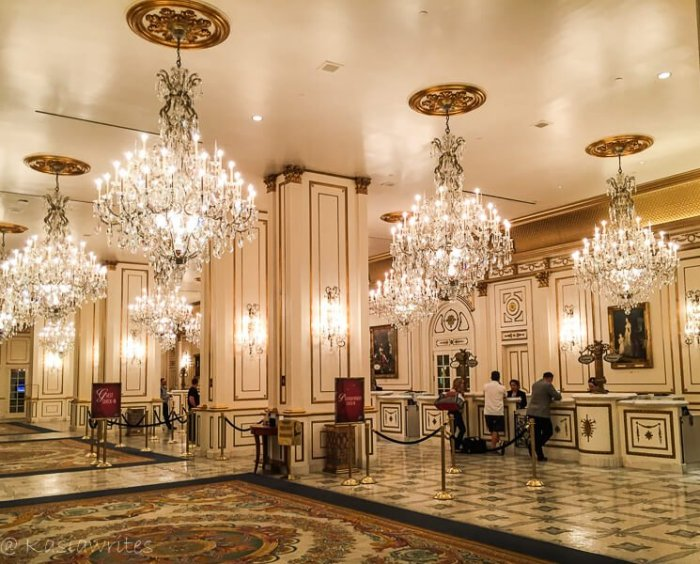 vegas hotel lobby