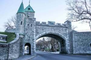 fortified gate