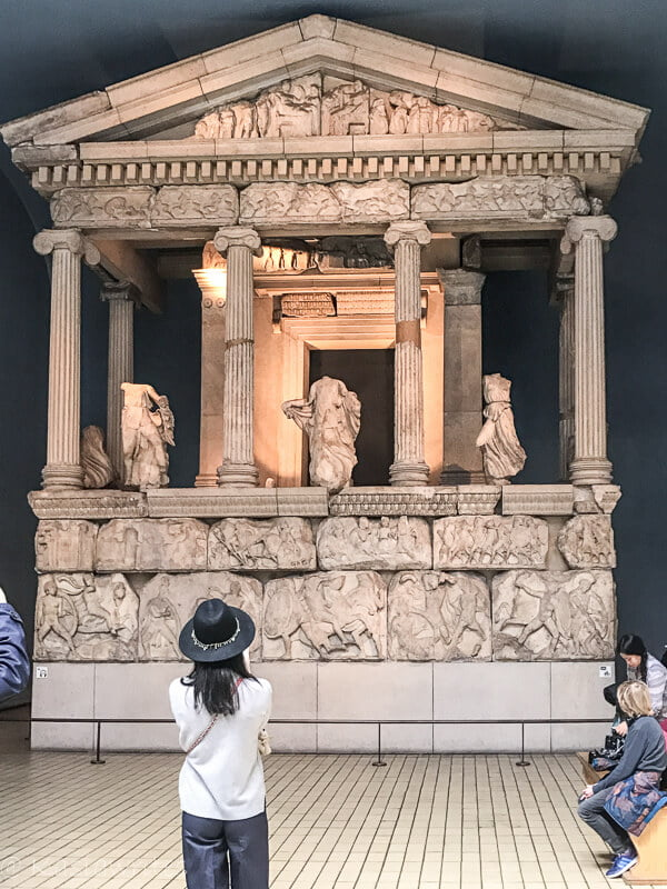 Ancient Greek exhibit a reason why do people visit museums