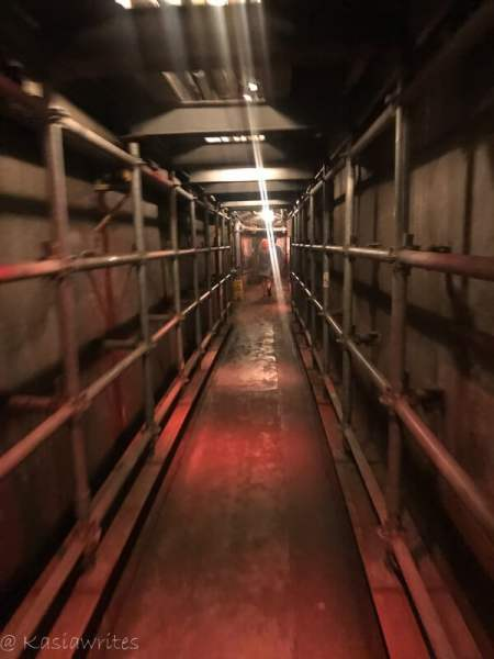 underground tunnels at Casa Loma