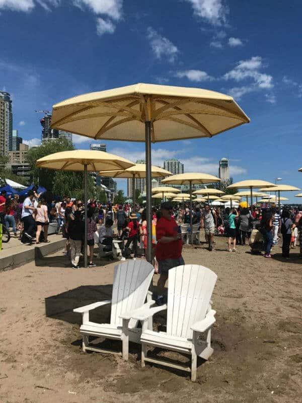 beach in Toronto