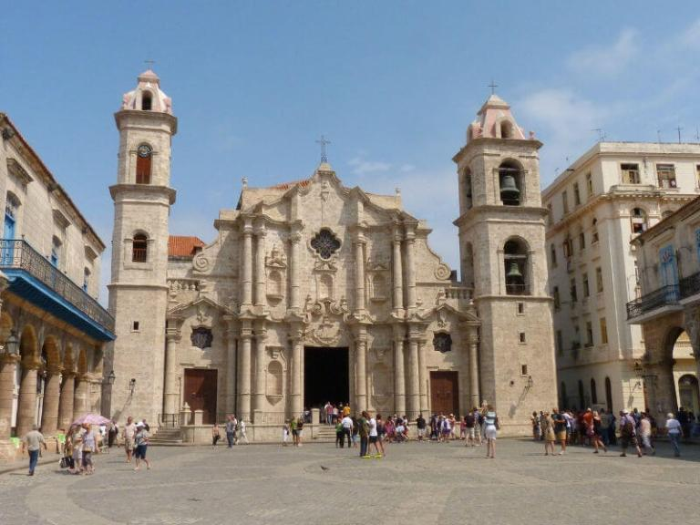 baroque church in Havana