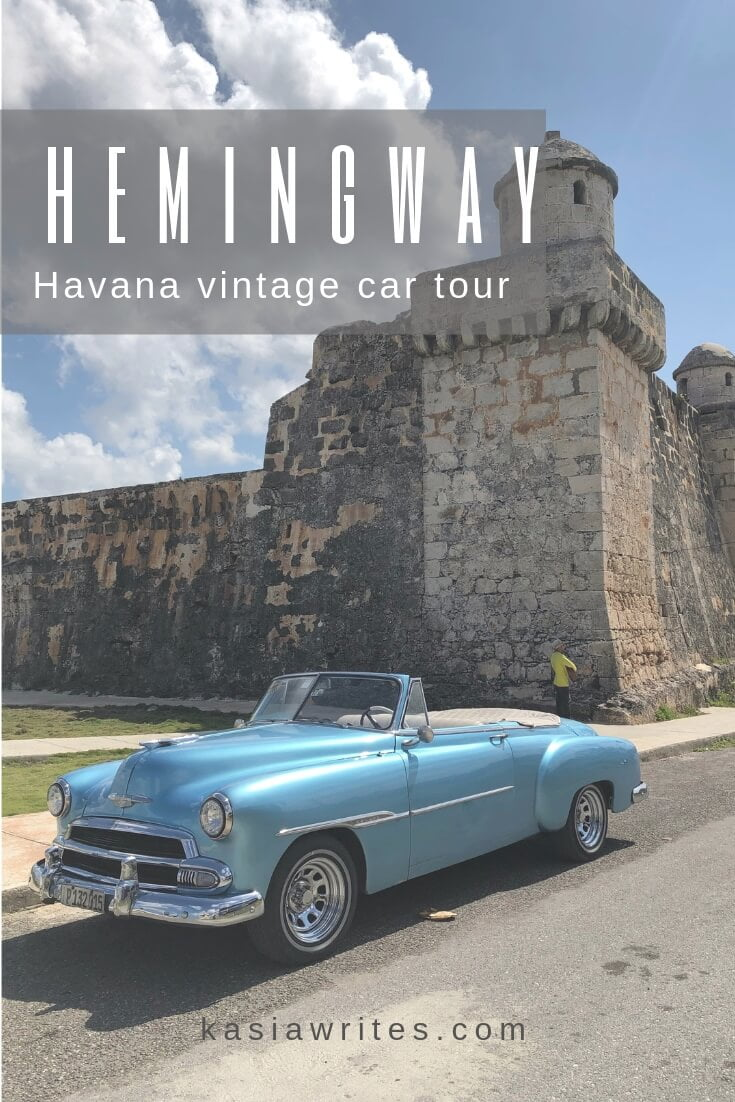 Vintage car tours Havana are a must and there is no better one than following in the footsteps of Ernest Hemingway in Cuba.