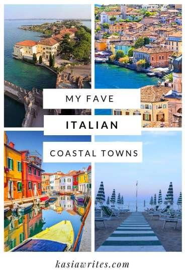 Italy has many amazing coastal towns for views and beaches
