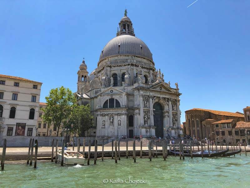 ornate church on the Grand Canal