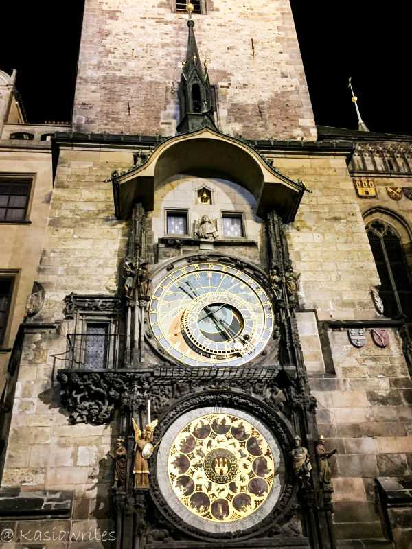 visit the medieval clock one of many things to do in Prague