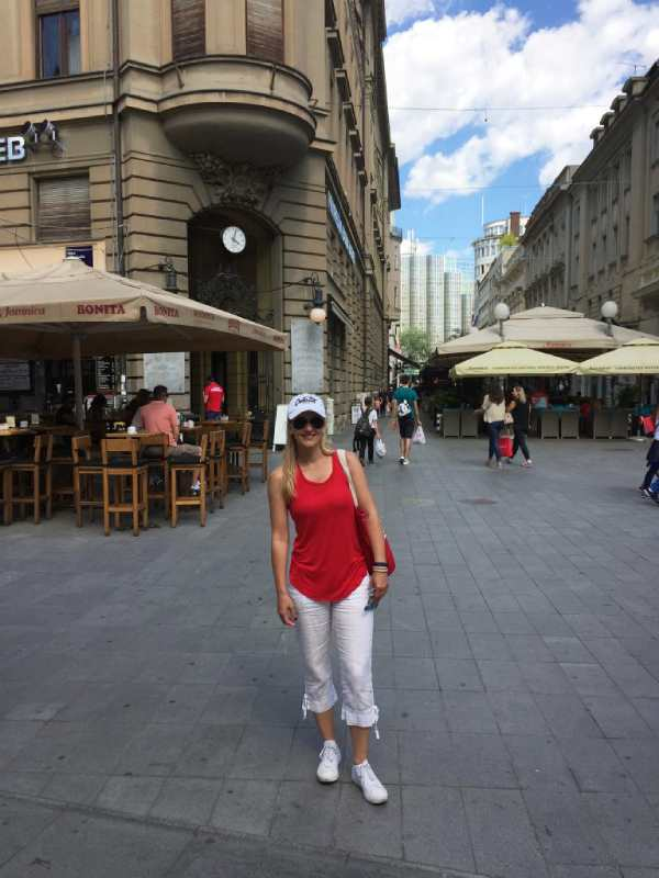 on the streets of Zagreb