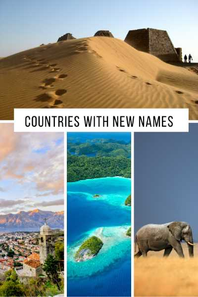The not so new countries with new names and long histories | kasiawrites