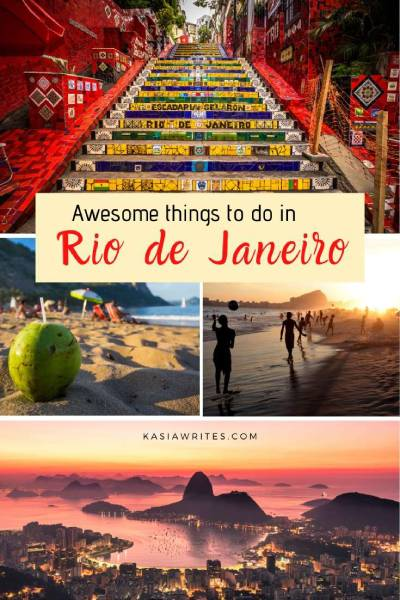 10 awesome things to do in Rio de Janeiro | kasiawrites cultural travel