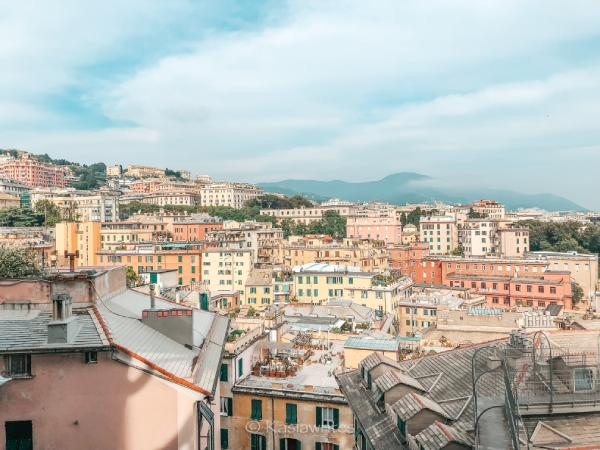 visit Genoa viewpoint for great views of the city